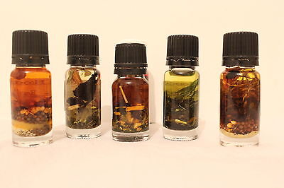 HOODOO CONDITION OILS 10ml - Select One From Our Full Range of Handmade Oils
