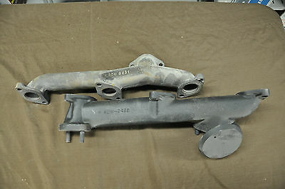 1950 Mercury Exhaust Manifolds and Cross Over Pipe