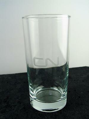 CN Railroad Drinking Glass, Canadian National Etched Drinking Glasses Lot of 3