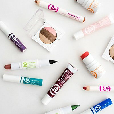 LOTE Maquillaje Mary Kay at Play 3 Sombras y 3 Labiales