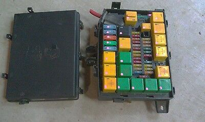 land rover range rover p38 99 02 genuine relay fusebox fuse box yqe103410 new cad 286 98