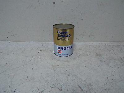 Vintage Unocal 76 1Qt Paper Oil Can Full Great Color And Shine