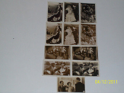R J Hills Scenes From The Films - A Series Of 50 - 9 Mint Cards - Rare!