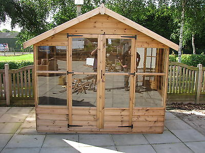 8 x 6 NEW Summer house RRP £989