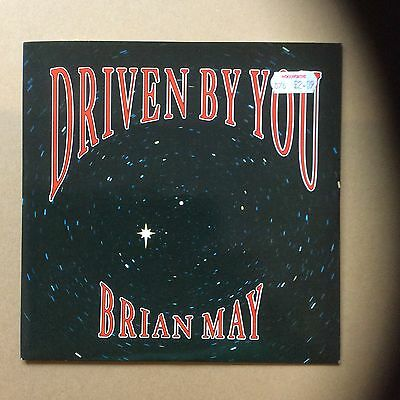 "Brian May - Driven By You / Just One Life 1991 Parlophone 7"" Single 45RPM Record"