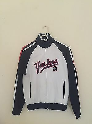 Genuine Rare Vintage New York Yankees Emblem Varsity Jacket