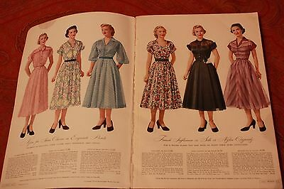 Vintage Collectible 1952 Montgomery Ward Spring Summer Catalog Clothes Household