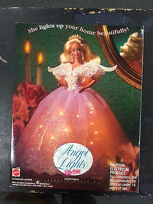 Angel Lights Barbie Doll Tree Topper - Collectible