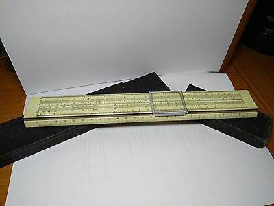 Vintage Soviet USSR Russian  Slide Rule with case 1953 year