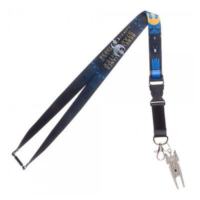 Official Star Wars - Blue Squadron Rebel Alliance Printed Lanyard (New)