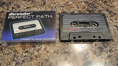 Discwasher Perfect Path - Cassette Head Cleaner   ca 18