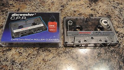 discwasher c.p.r.  capstan - pinh roller  - Cassette Head Cleaner   ca 19