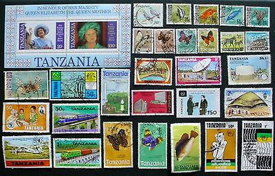 Tanzania: Collection Of  Used Stamps:  Lot 4