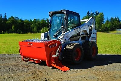 Skid Steer Mix & Go Cement Mixer Attachment - BMX-450 by Eterra