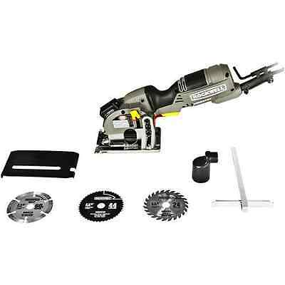 Rockwell Versacut 4.0 Amp Ultra-Compact Circular Saw with Laser Indicator and 3-