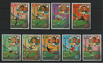 Stamps Souvenir Munich 1974 - The best player in MUNDIAL  from 1930 until 1970
