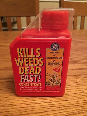 Bio Kills Weeds Dead Fast! Concentrate Rapid Action Weed killer 500ml