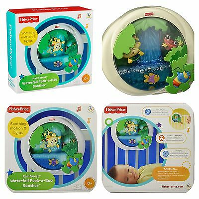 Fisher-Price Rainforest Peek-a-Boo Soother Waterfall NEW!