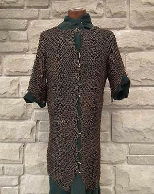 Antique Islamic 17th century Turkish Ottoman Chain Mail Armor to sword