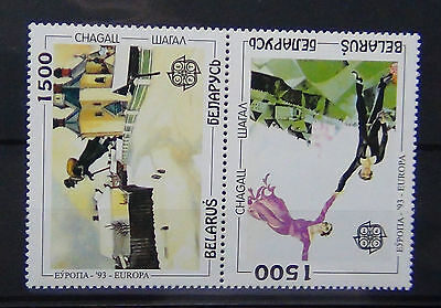Belarus 1993 Europa Contemporary Art Painting Set MNH