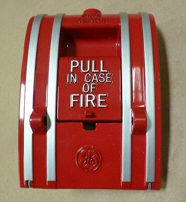 Edwards Ge 270-Spo Fire Alarm Pull Down Station Red Wall Mounting 3A 30/60V