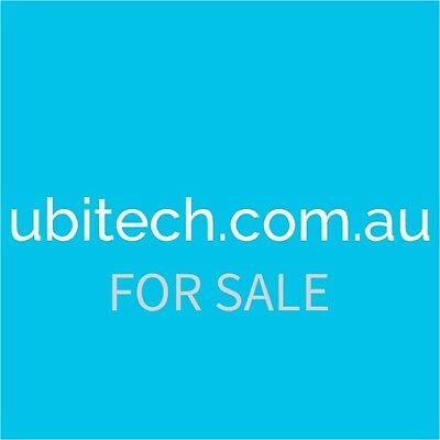 DOMAIN NAME FOR SALE! UBITECH.COM.AU  Price Has Been Reduced!