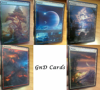 20 Pack Extended Full Altered Art Basic Lands of YOUR CHOICE MTG 5$ DISCOUNT