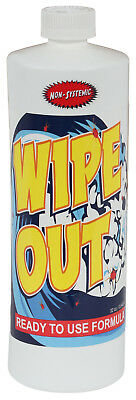Wipe Out Insecticide/Miticide Spider Mite Insect Killer 32 oz Quart Wipeout