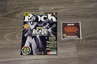 Classic Rock Magazine Issue 115, February 2008, AC/DC, with cd