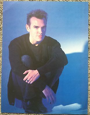 MORRISSEY - 80s (C) full page UK magazine poster THE SMITHS