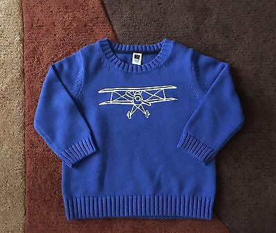 NWT Janie and Jack Baby Boy Sweater 18-24 Months