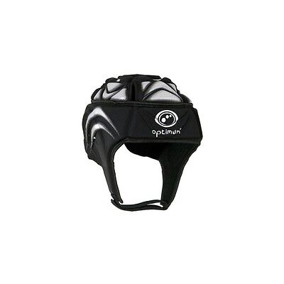 Optimum Extreme Rugby Headguard Mens Head Protection, Black, Uk L