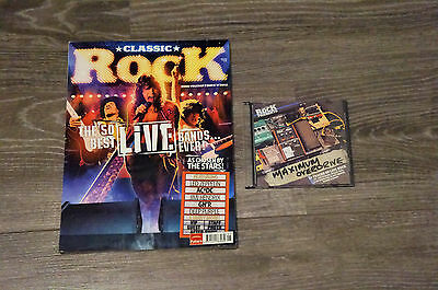 Classic Rock Magazine Issue 118, May 2008, with cd