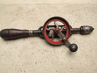 Rare Millers Falls Double Pinion Egg Beater Hand Drill