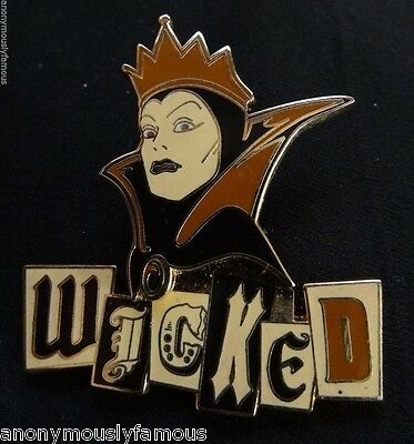 2004 Villain Collection Evil Queen Wicked Pin Disneyland DLR 33969