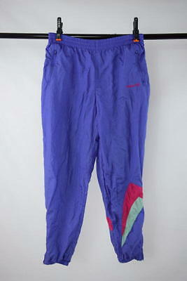 Vtg 80s Retro ADIDAS Purple Pink Athletic Work Out Track Warm Up Sweat Pants L