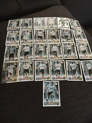 Derby County Match Attax Trading Cards Set X 25 Cards