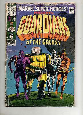Marvel Super-Heroes #18 & Two-In-One #5 1ST & 2ND GUARDIANS of the GALAXY Low Gr