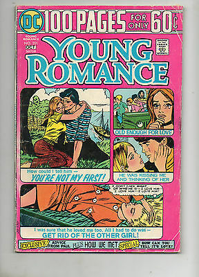 Young Romance 201 1974 VG 4.0 100-Page-Super-Spectacular! SUPER-RARE Scarce DC 5