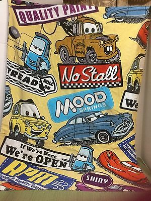 """RARE Excellent Authentic Disney Parks Cars Mater Oversized Beach Towel 34""""by64"""""""