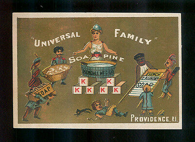 Children of the World All Use Soapine Soap-1880s Victorian Trade Card