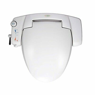 iZEN IB3000 Toilet Bidet Seat Cover Warm Water Washlet Bathroom White