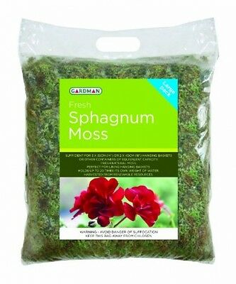 Gardman Fresh Sphagnum Moss In Large Pack