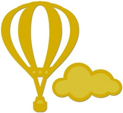 Kaisercraft Decorative Die - Hot Air Balloon - for use in most cutting systems