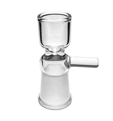 14mm Female Glass Slide Bowl With Handle - U.S.A Fast Free Shipping