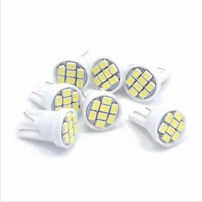 20x T10 1206 8SMD W5W Tail Light Bulb LED Indicator dashboard lights 12V DC Lamp