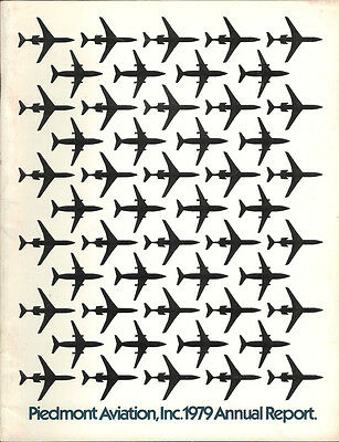 Piedmont Airlines annual report 1979 [4092]