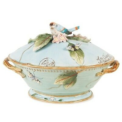Fitz and Floyd Toulouse Collection, Tureen with Ladle