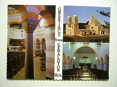 St.Francis Xavier Cathedral.Geraldton,W.A.1970's(O513413)Free Postage