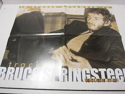 Bruce Springsteen Promo Poster for The Box set Tracks! Excellent! Ships fast!